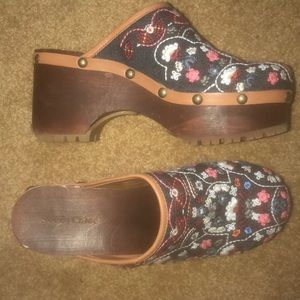 See By Chloe Embroidered Clogs